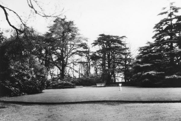 View of Gardens from Bittacy House